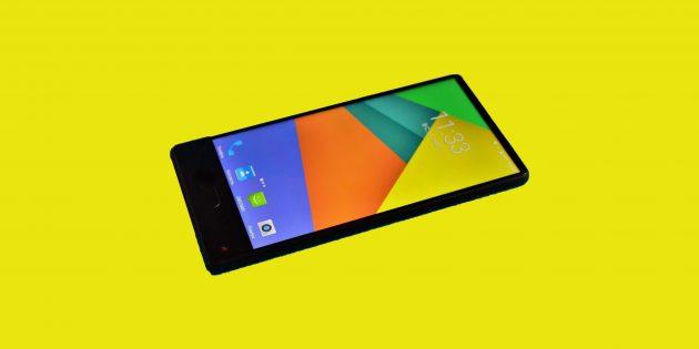 Обзор Maze Alpha — безрамочного смартфона с 6-дюймовым экраном и большой батареей