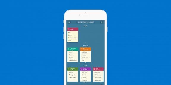 Orderly для iOS заменит доску со стикерами