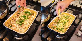 Киш с курицей и грибами: настоящий французский рецепт