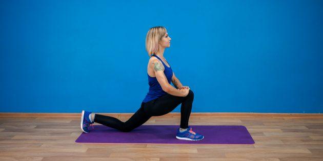 ягодичные мышцы: растяжка мышц