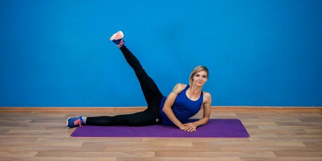ягодичные мышцы: подъём ноги