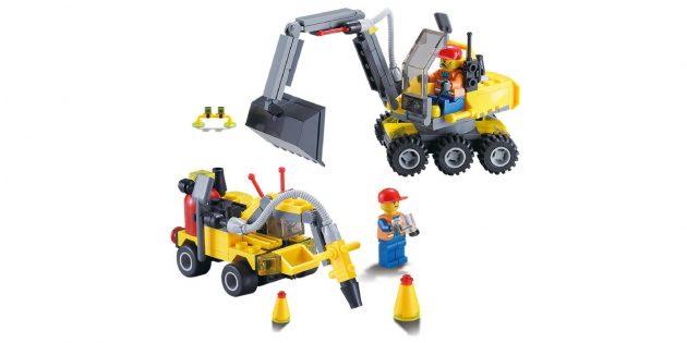 Детский строительный конструктор