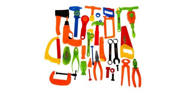 Детские пластиковые инструменты