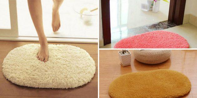 Напольный овальный коврик