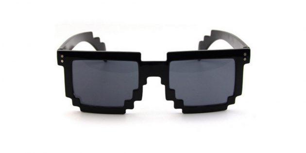 Пиксельные очки