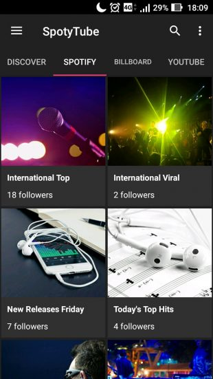 SpotyTube: Spotify