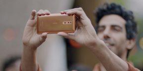 Представлен флагман Nokia 8 с двойной камерой Carl Zeiss