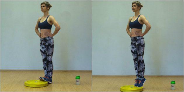 упражнения-филлеры: упражнение на мобильность лодыжек