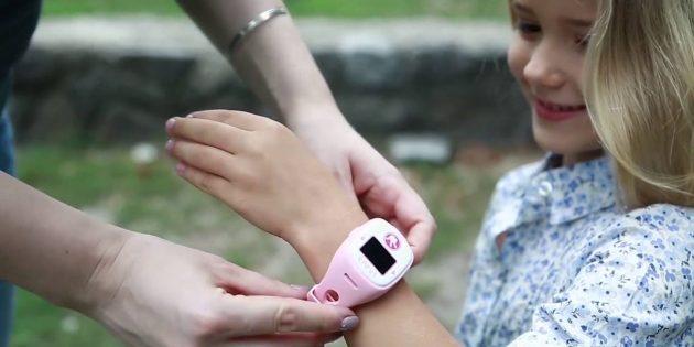 Детские часы с GPS Elari FixiTime 2