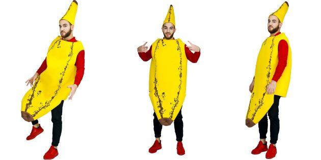 Костюмы на Хеллоуин: банан