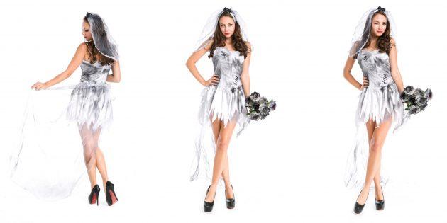 костюмы на Хеллоуин: мёртвая невеста