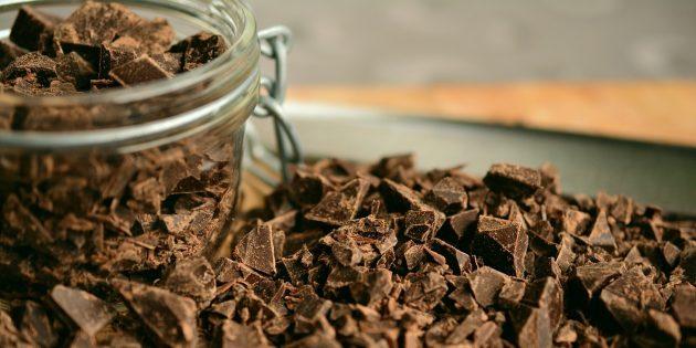 Полезные продукты: шоколад