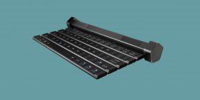 Гаджет дня: Compectus — сворачивающаяся Bluetooth-клавиатура с динамиками