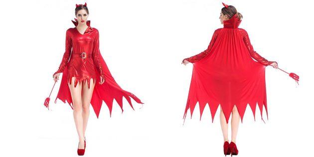 костюмы на Хеллоуин: дьяволица