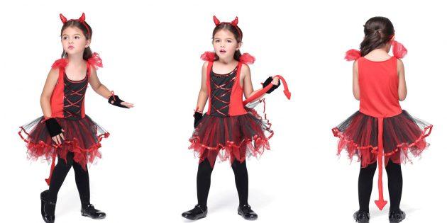 Костюмы на Хеллоуин: дьяволёнок