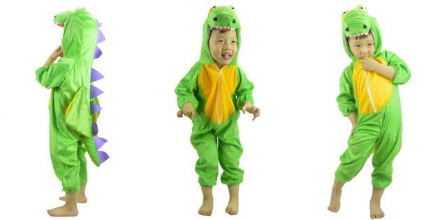 Костюмы на Хеллоуин: динозавр