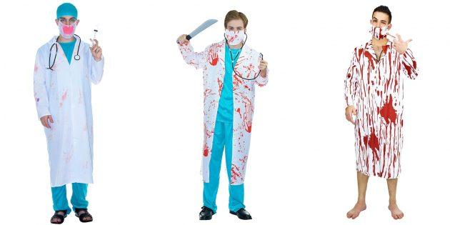 костюмы на Хеллоуин: злой доктор