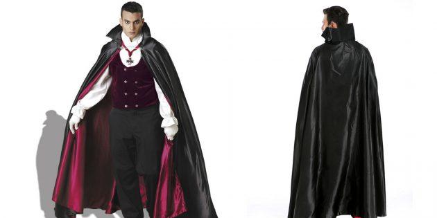 костюмы на Хеллоуин: Граф Дракула