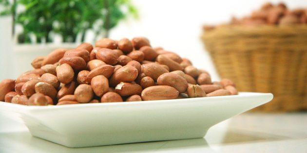 Полезные продукты: орехи