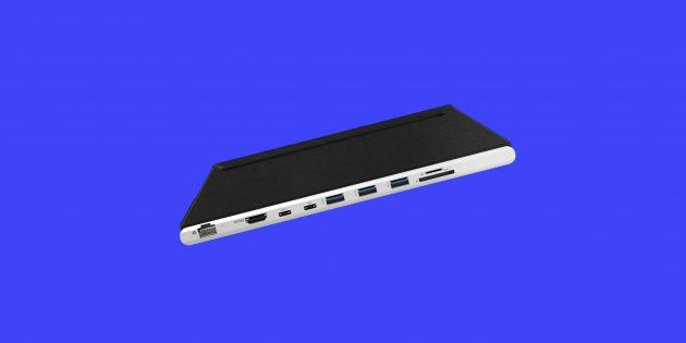 Гаджет дня: DockCase — чехол для MacBook Pro со встроенной док-станцией