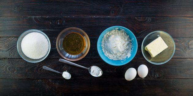 Рецепт торта «Медовик»: ингредиенты