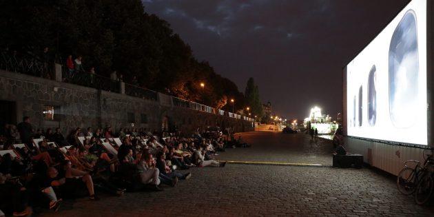 Кинотеатр под открытым небом в Праге