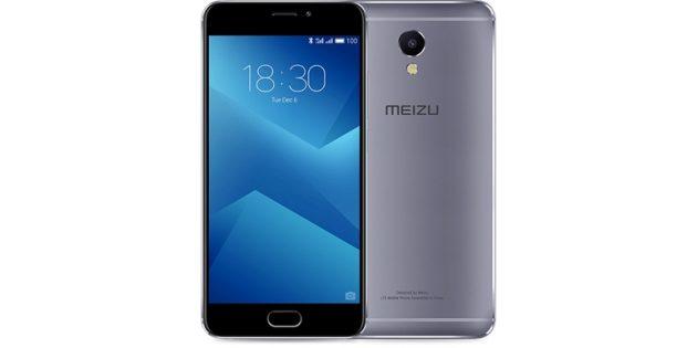 смартфоны Meizu: Meizu M5 Note