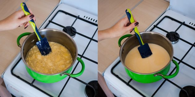 Классический «Медовик» со сметанным кремом: прогрейте массу