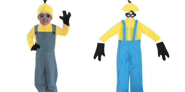 костюмы на Хеллоуин: миньон
