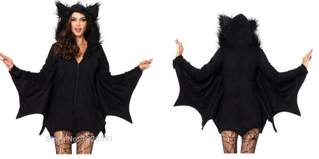 костюмы на Хеллоуин: летучая мышь