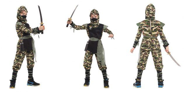 костюмы на Хеллоуин: ниндзя