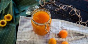 Очень простой рецепт варенья из абрикосов и апельсинов