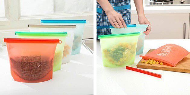 Пакеты для хранения продуктов