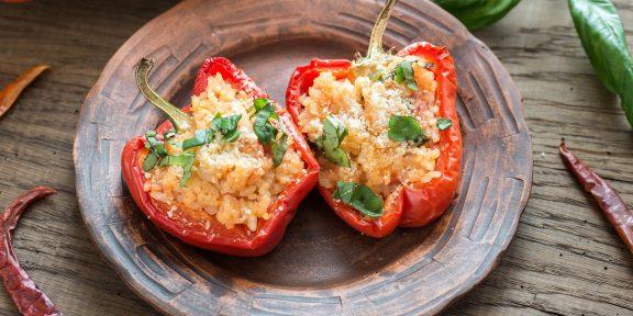 7 необычных рецептов фаршированных перцев