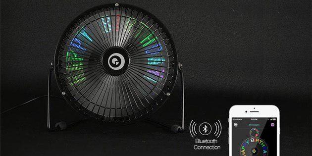 Вентилятор с программируемой подсветкой