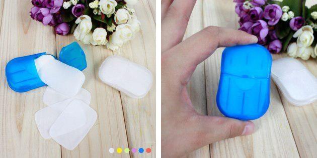 Пластинки мыла