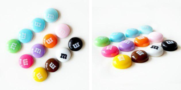 Магниты М&M's