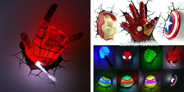 Супергеройские лампы