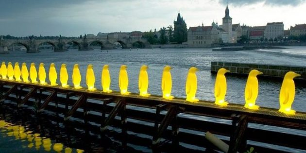 Памятник в Праге