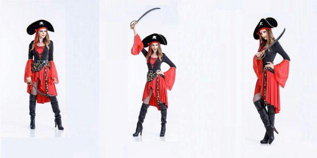 Костюмы на Хеллоуин: пиратка