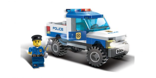 police car lego sale