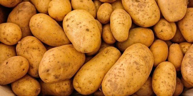 Полезные продукты: картофель