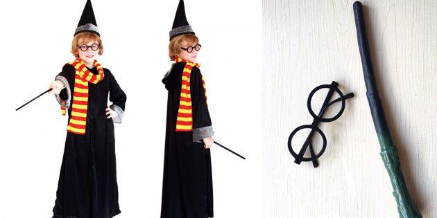 костюмы на Хеллоуин: Гарри Поттер