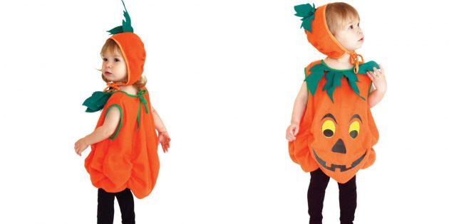костюмы на Хеллоуин: тыква
