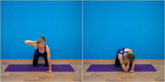 упражнения-филлеры: скручивание