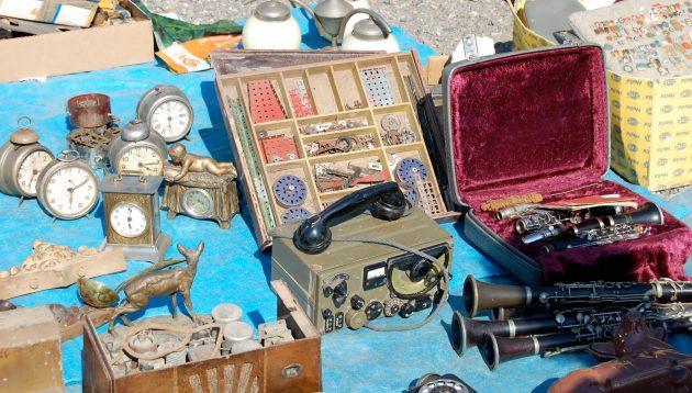 Блошиный рынок на Kolbenova