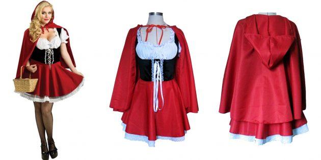 Костюмы на Хеллоуин: Красная Шапочка