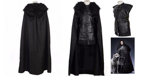 костюмы на Хеллоуин: Джон Сноу