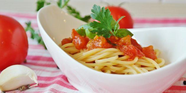 Полезные продукты: паста