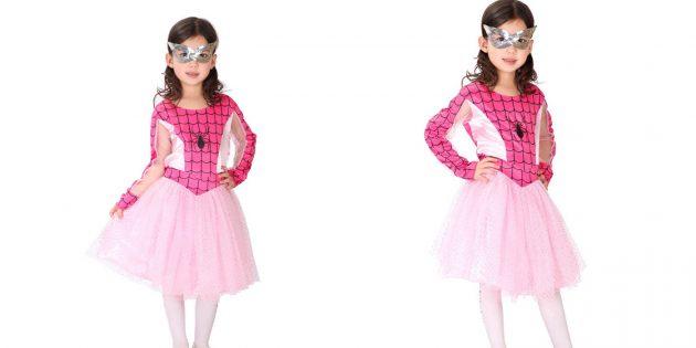 костюмы на Хеллоуин: Девочка-Паук